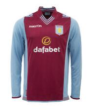 Aston Villa Camiseta de Fútbol Talla XL Macron Nuevo con Etiqueta Avfc