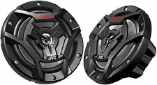 "Pair JVC CS-DR6200M 6.5"" 300w 2-Way Motorcycle  ATV Powersports Marine Speakers"