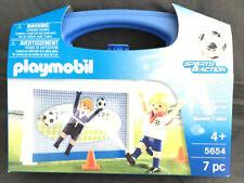 Playmobil 5654 Football Shootout Carry Case - Small BNIB