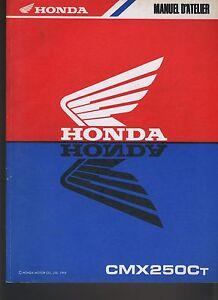 (21) REVUE TECHNIQUE MANUEL ATELIER MOTO HONDA CMX250C T