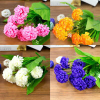 Artificial Small Chrysanthemum Daisy Silk Room Garden Flower-Arrangement