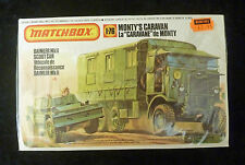 Matchbox WW2 Monty's Caravan & Daimler Scout Car Model Kit 1/76 Scale SEALED