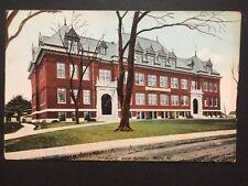 Antique POSTCARD c1907-20 Morse High School BATH, ME Maine (20580)
