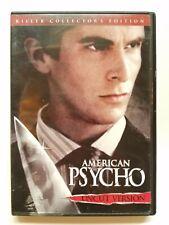 American Psycho (Dvd, 2000, Uncut) Used