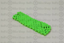 KMC Z410 Bike Chain Single Speed Fixed BMX Track GREEN!
