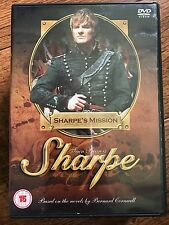 Sean Bean SHARPE'S MISSION ~ 1996 TV Swashbuckler Drama UK DVD