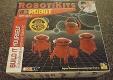 Robotikits 4 in 1 Robot OWI-9874 Built It Yourself Educational Electronic Robot