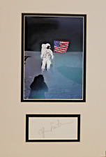 Apollo 14 Astronaut Moon Walker Ed Mitchell Autographed Signed Display