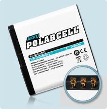 PolarCell Akku für Nokia E51 Nokia N82 N81 8GB 6720 classic BP-6MT Batterie Accu