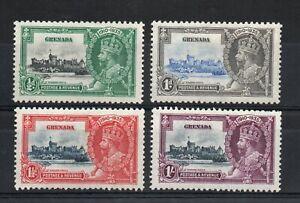 GRENADA SG 145-8 GV 1935 SILVER JUBILEE M/M