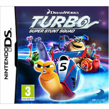 DREAMWORKS TURBO SUPER STUNT SQUAD NINTENDO DS 2DS 3DS BRAND NEW AND SEALED