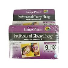 (2) Georgia Pacific Image Plus Professional Glossy Photo Paper Sealed New