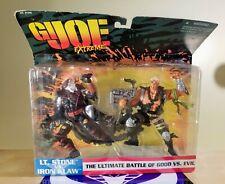 GI JOE EXTREME LT. STONE VS IRON CLAW 1995 G.I. JOE NEW 5IN