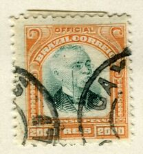 BRAZIL; 1906 early Penna Official issue fine used 2000r. value