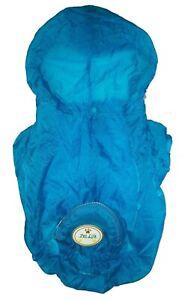 Adjustable Waterproof Zippered Folding Travel Pet Dog Raincoat Poncho Coat