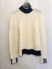 Raf Sinons AW15 Mock Turtleneck Patch Sweater
