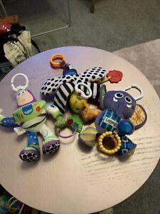 3 Lamaze Soft Pram Toys