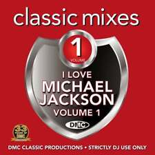 DMC Michael Jackson Vol 1 Megamixes & 2 Trackers Remixes Ft Missy Elliott DJ CD
