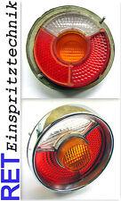 Rückleuchte Rücklicht rechts BMW 1802 2002 Glas + Rahmen komplett & original