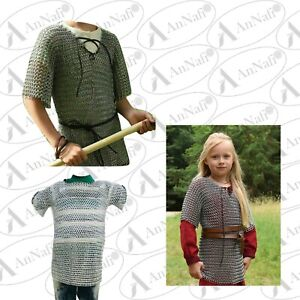 Christmas Best Gift For Child Son & Daughter,Medieval Aluminium Butted Chainmail