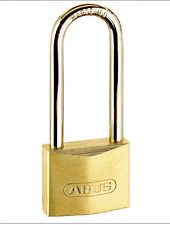 Abus 65MB/30HB70 Brass Padlock Long Shackle