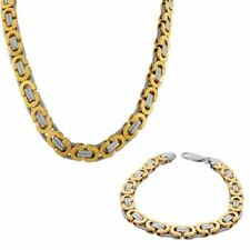 Conjuntos de bisutería color principal oro de acero inoxidable