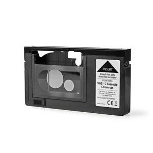 VHS-C Kassettenadapter Adapter Video VHS Recorder Rekorder Kassette Konverter