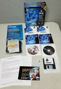 Corel Linux OS Deluxe Second Edition 2000 Rare with Inflatable Penguin