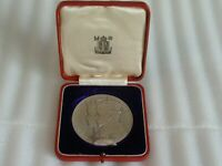 Great Britain 1935 57mm King George V Silver Jubilee Silver Eimer 2029a RARE!