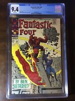 Fantastic Four #69 (1967) - Stan Lee!! Jack Kirby!! Mad Thinker!!! - CGC 9.4!!