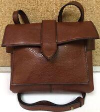 J Crew Crossbody Pebbled Leather Handbag Adj Strap Sample NWOT