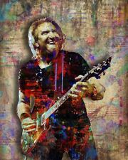 Joe Walsh Of The Eagles Poster The Eagles Joe Walsh Print 8x10n Free Shipping