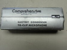 COMPREHENSIVE ML-10 CLIP ON MICROPHONE ELECTRET CONDENSOR MICROPHONE