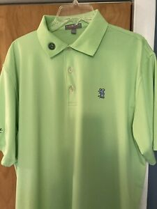 Scotty Cameron Peter Millar Polo Tour Rat CT Summer Comfort LARGE L Lime Green