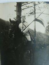 Mounted German Soldier. Cuirassier(Kürassier) Regiment with Lance & Rifle (375)