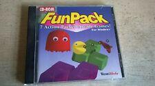 Fun Pack für Windows 1995 Win 3.1 PC Spiel - 7 Spiele-Original JC Edition