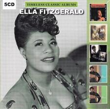 ELLA FITZGERALD - TIMELESS CLASSIC ALBUMS (NEW SEALED 5CD)
