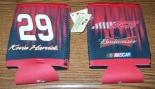 KEVIN HARVICK #29 BUDWEISER CAN COOLER KOOZIE NEW!!!!!!