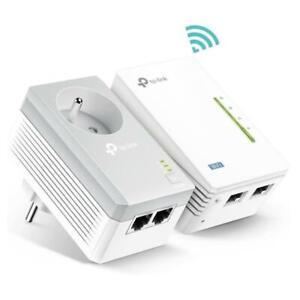 TP-Link Powerline 500 Mbps Ethernet Ports WiFi 300 Mbps Integrated Socket AV500