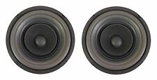 "NEW PAIR (2) MEGA BASS 8"" FULL RANGE Dual Cone Speaker Sub Woofer Car / Home"