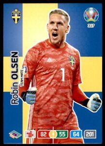 Panini Euro 2020 Adrenalyn XL - Robin Olsen Sweden CORE - Team Mate No. 317