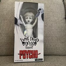 Psycho Living Dead Doll Marion Crane Doll. MEZCO Universal W/FREE Shipping
