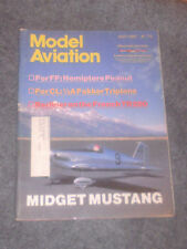 Model Aviation Magazine April 1987