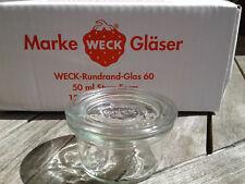 12 pezzi WECK ® 50ml caduta forma/barattoli di vetro/einweckglas/caramella vetro