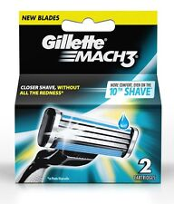 Gillette Mach 3 Razor 2 CARTRIDGES Men Razor'S CARTRIDGES Free Shipping FOR MAC3