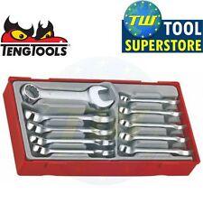 Teng 10pc 8-19mm Stubby Midget Combi Spanner Set TT6010M - Tool Control System