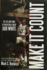JoJo White - Celtics Legend - Autographed By JoJo & the author Hardcover Bio