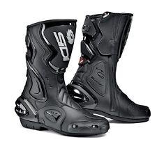 Sidi Cobra Rain Motorcycle Boots Motorbike Racing Race Track Sport Bike - EU 39