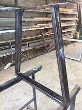 Steel Table x 2 Gambe/base per tavolo  Ufficio Salotto Cucina