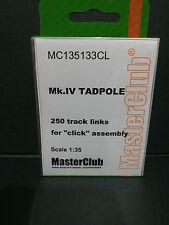 Tracce di resina per MK. IV Tadpole Coda, MC135133CL, MasterClub, 1:35